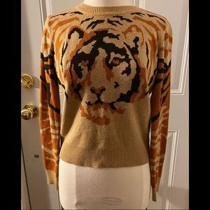 Flying Tomato Tiger Sweater Small